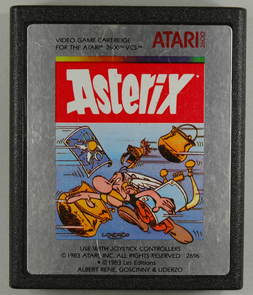 Asterix - Atari 2600 cover