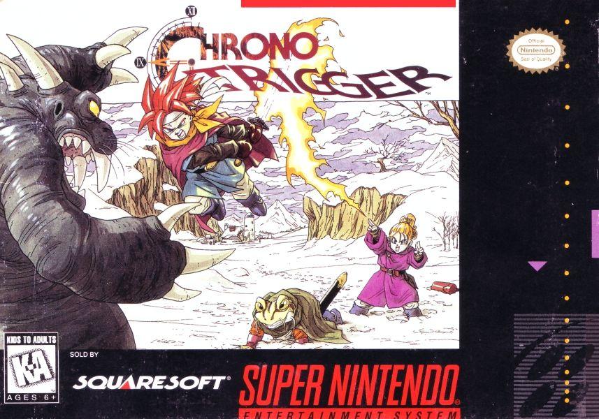 Chrono Trigger - Super NES cover