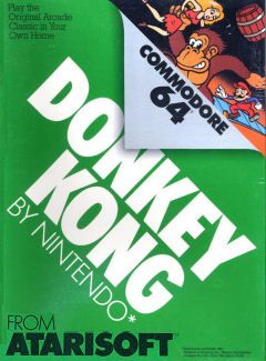 Donkey Kong - Commadore 64 cover