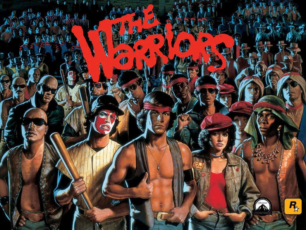 The Warriors - PS3 cover