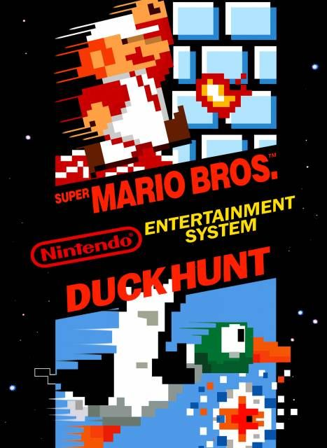 New Super Mario Bros. - NES cover