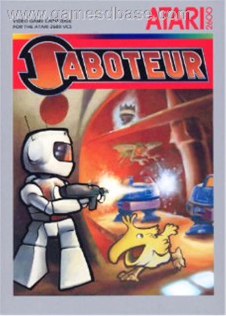 Saboteur - Atari 2600 cover