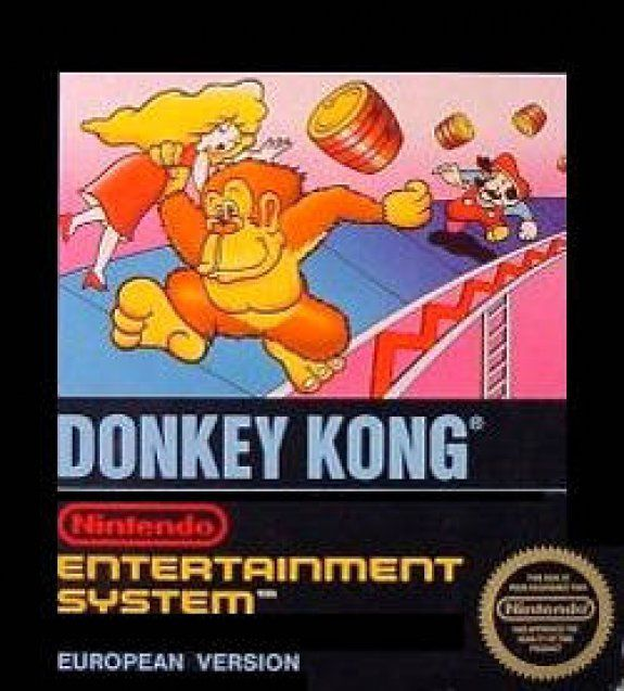 Donkey Kong - Wii Virtual Console cover