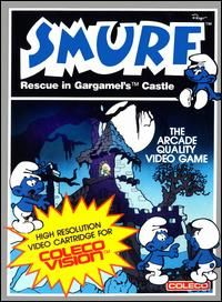 Smurf - Colecovision cover
