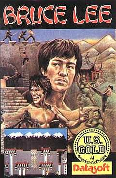 Bruce Lee - Commodore 64 cover