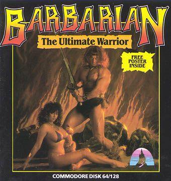 Barbarian - Commodore 64 cover