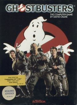 Ghostbusters - Commodore 64 cover