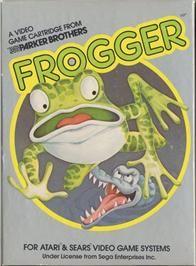 Frogger - Atari 2700 cover
