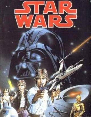 Star Wars - Commodore 64 cover