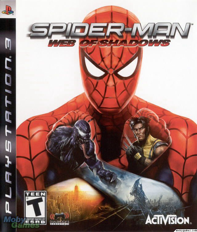 Spiderman: Web of Shadows - PS3 cover