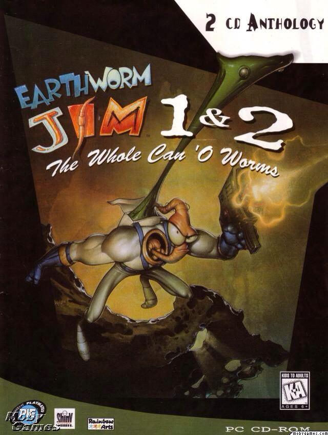 Earthworm Jim - Mac OS cover