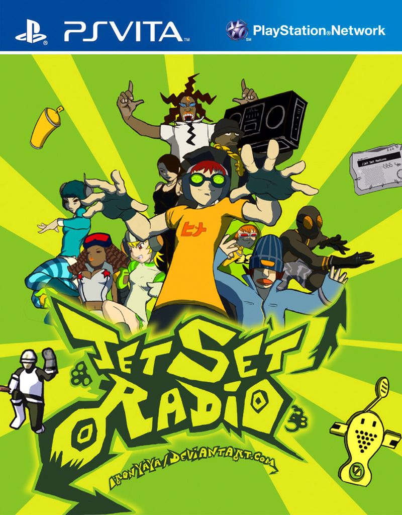 Jet Set Radio - PS Vita cover