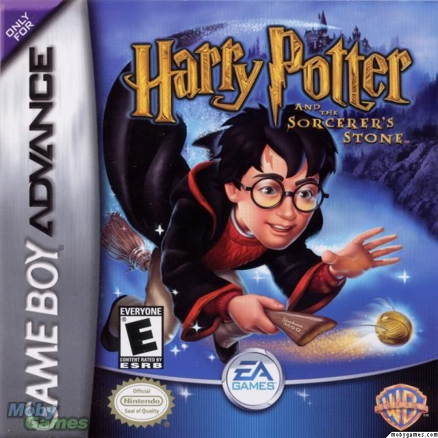 Harry Potter and the Philosophers Stone - Game Boy Advance cover