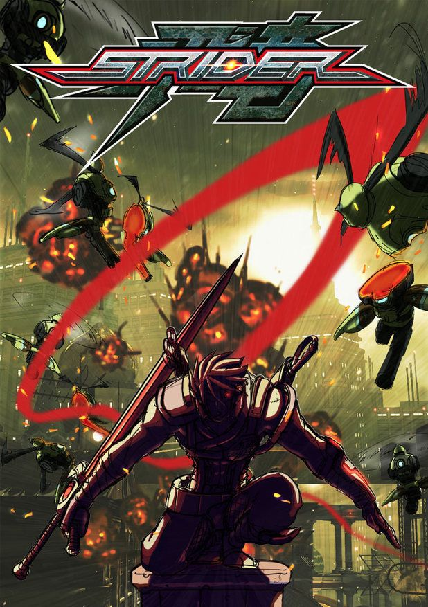 Strider - PS4 cover