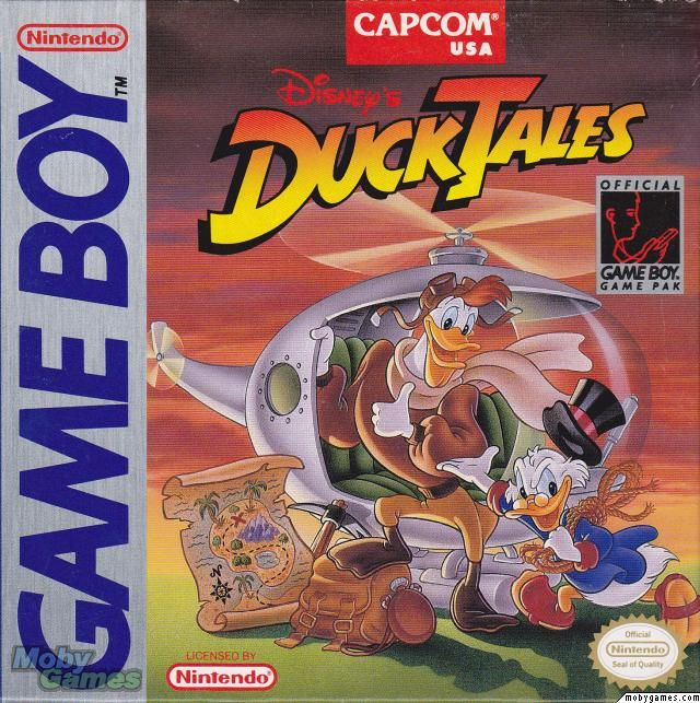 Duck Tales - Game Boy cover
