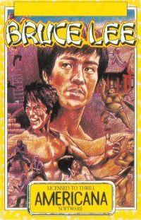 Bruce Lee - MSX cover