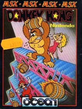 Donkey Kong - MSX cover