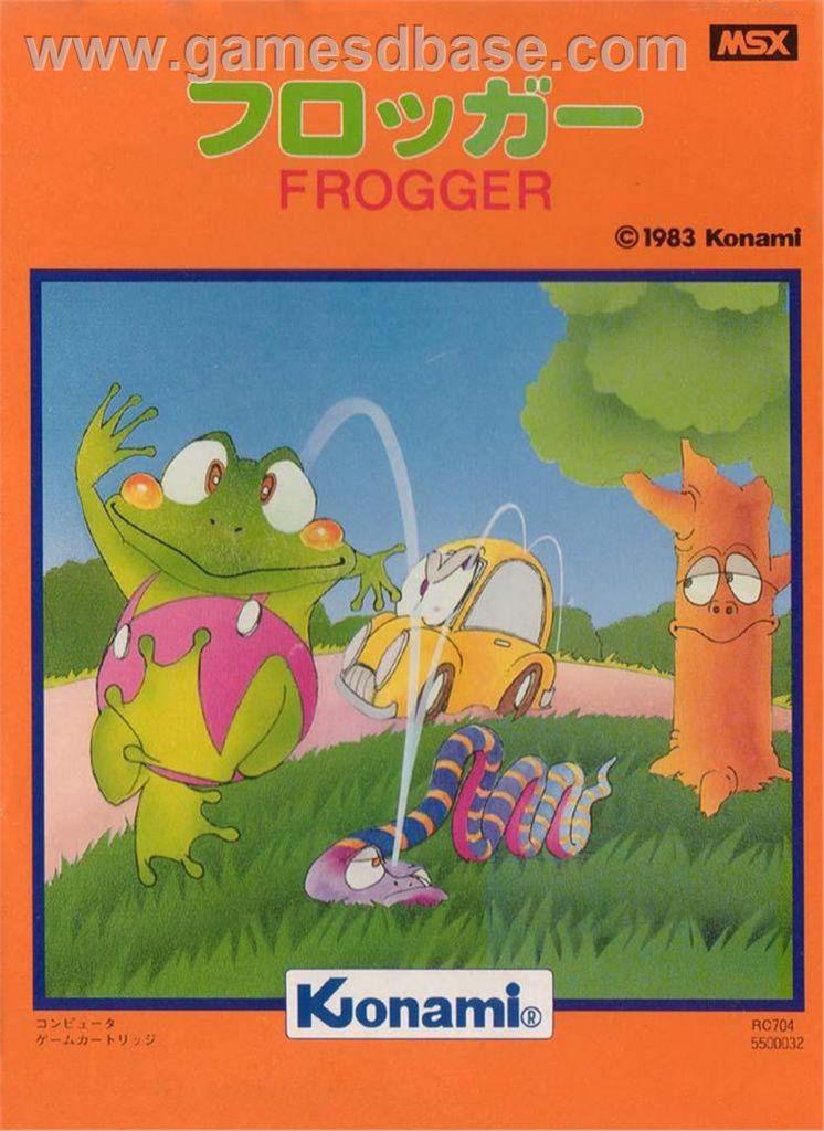 Frogger - MSX cover