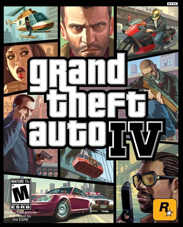 Grand Theft Auto IV - Playstation Network cover