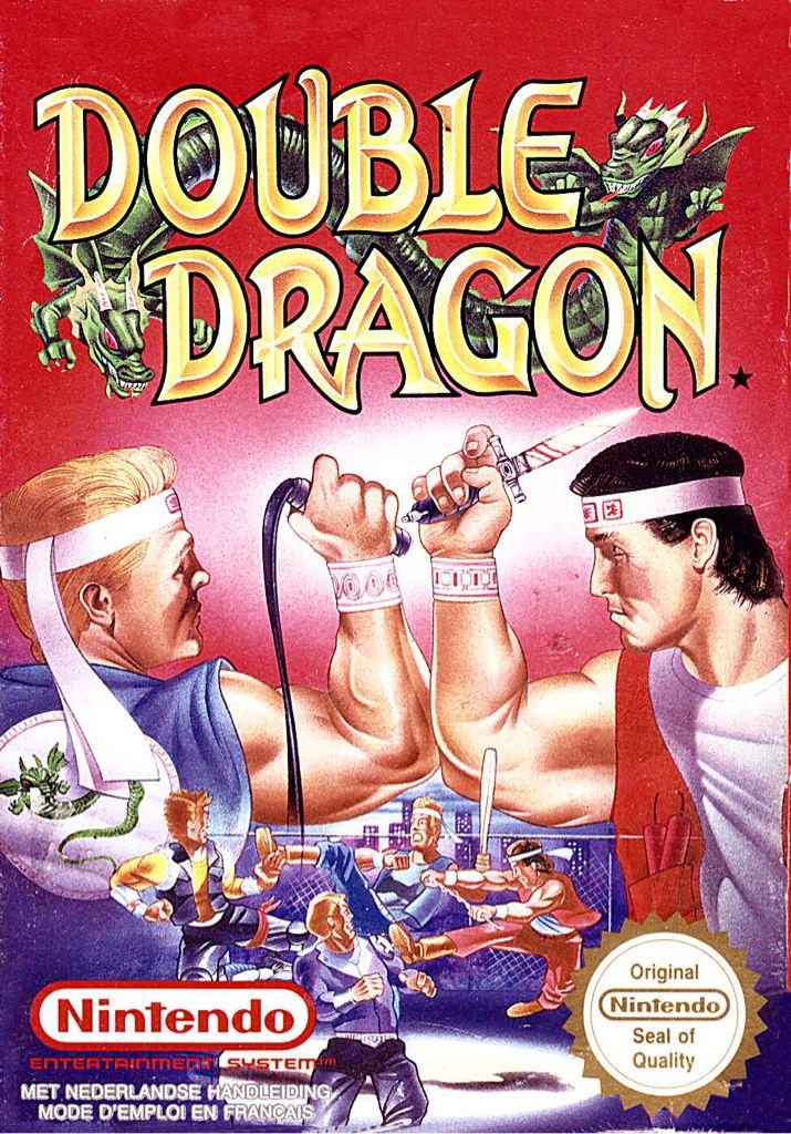 Double Dragon - NES cover