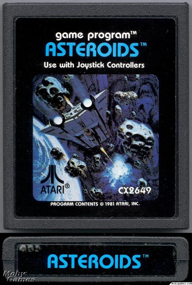 Astroids - Atari 2600 Jr. cover