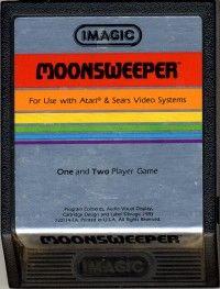 Moonsweeper - Atari 2600 Jr. cover