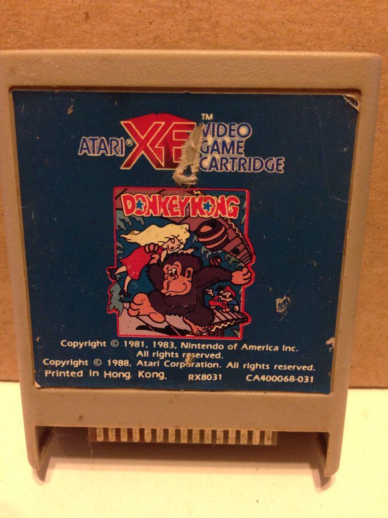 Donkey Kong - Atari 2600 Jr. cover