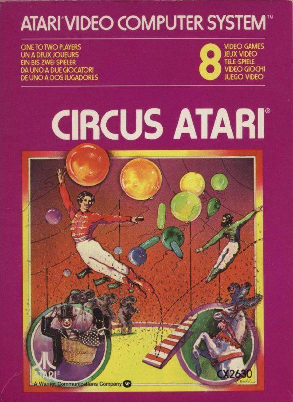 Circus Atari - Atari 2600 Jr. cover