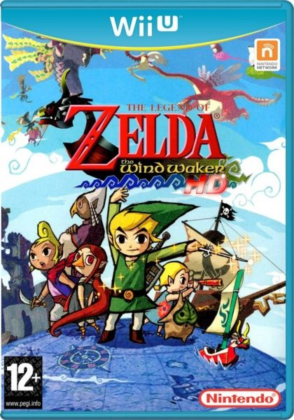 The Legend of Zelda: The Wind Waker - Wii U Virtual Console cover