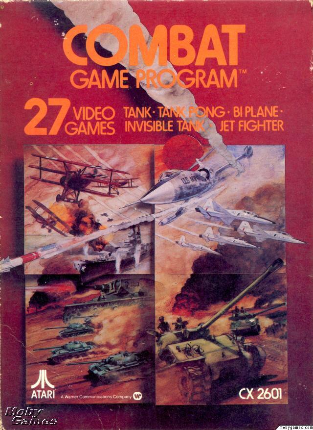 Combat - Atari 2800 cover
