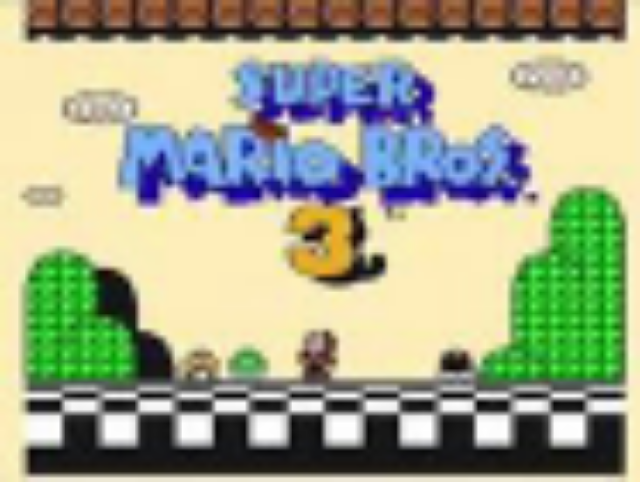 Super Mario Bros. 3 - Wiiware cover