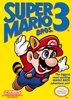 Super Mario Bros. 3 - NES cover