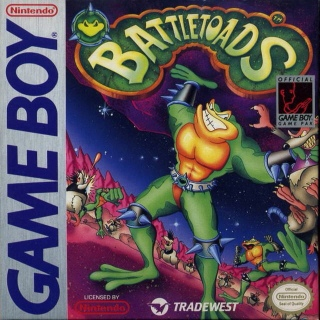 Battletoads - Game Boy cover