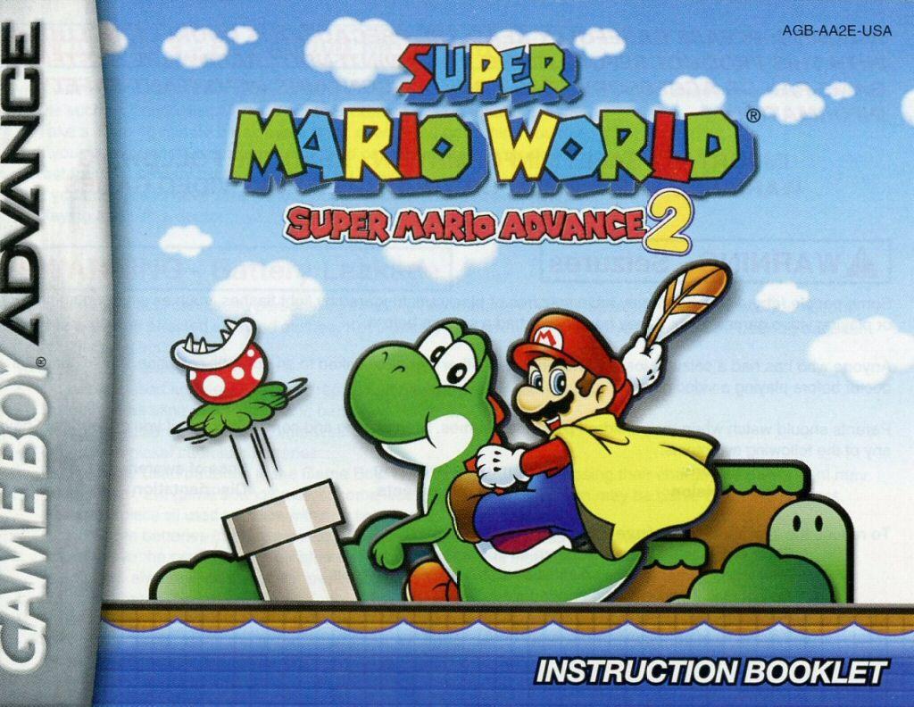 Super Mario World - Game Boy cover