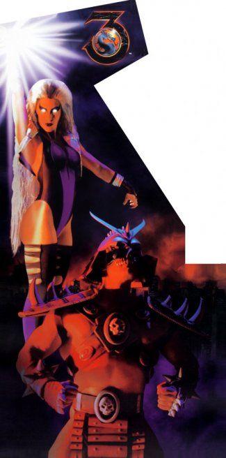 Mortal Kombat 3 - Arcade cover