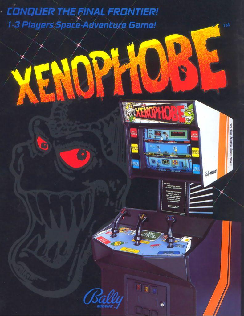 Xenophobe - Arcade cover