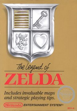 The Legend Of Zelda - 3DS Virtual Console cover