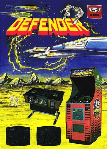Defender  - Arcade cover