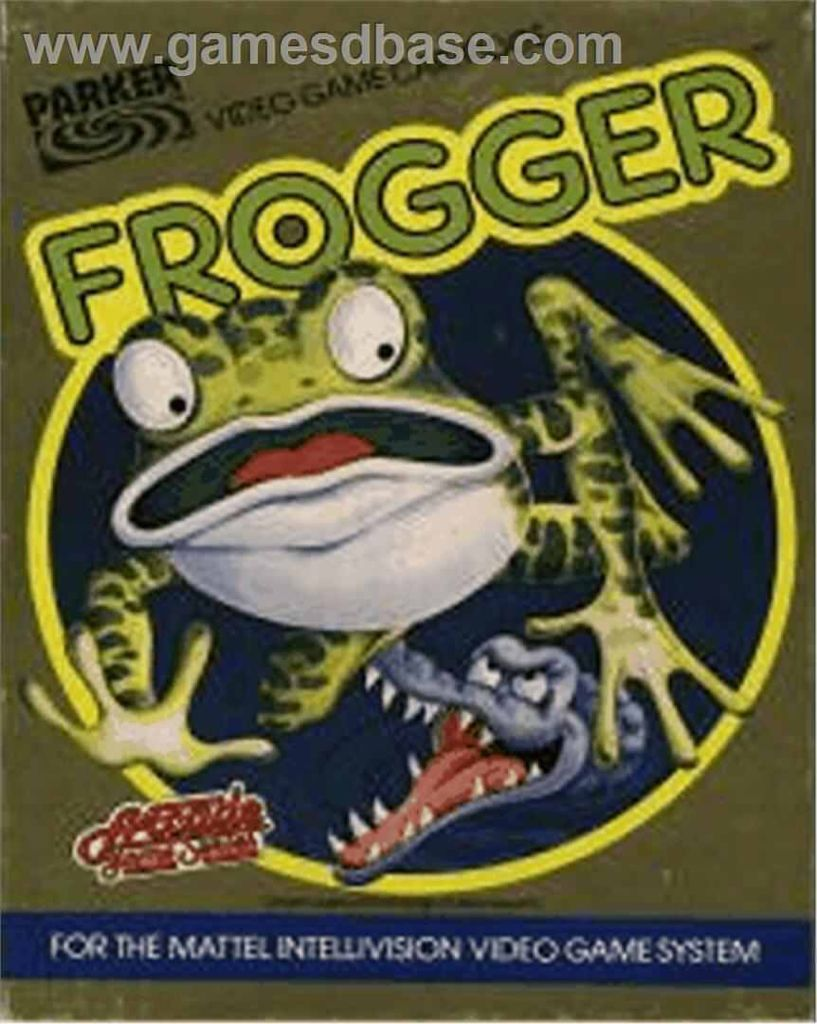 Frogger - Intellivision cover