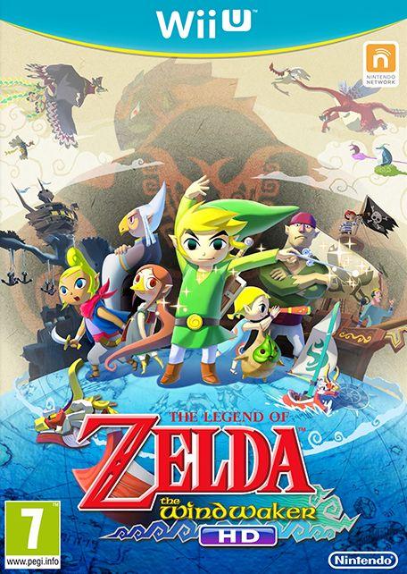 The Legend of Zelda: The Wind Waker - Wii U cover