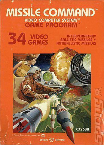 Missile Command - Atari 2600 Jr. cover
