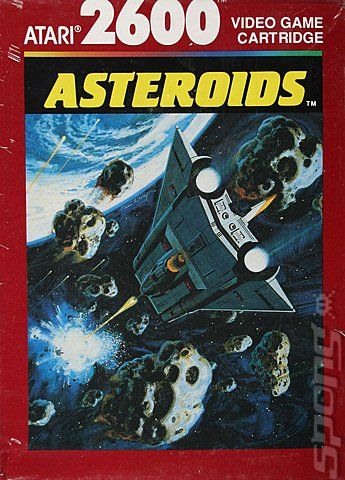 Asteroids - Atari 2600 Jr. cover
