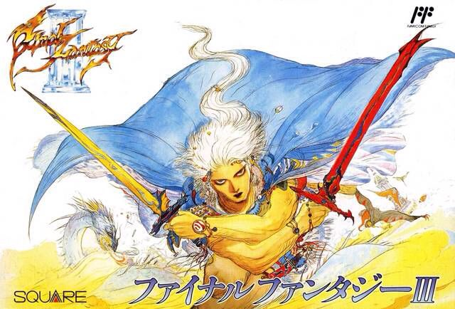 Final Fantasy III - Famicom cover