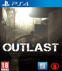 Outlast - PS4 cover
