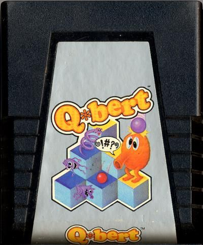 Q-Bert - Atari 2600 cover