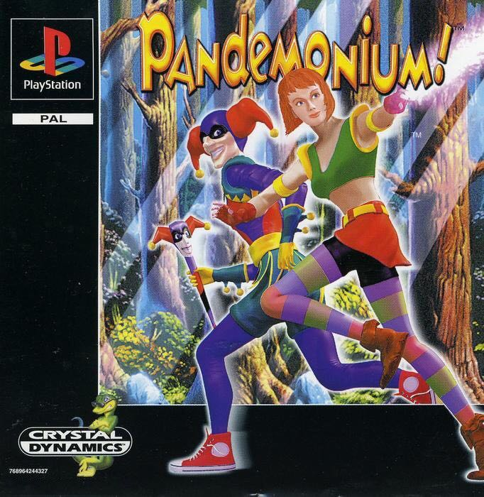 Pandemonium! - Playstation Network cover
