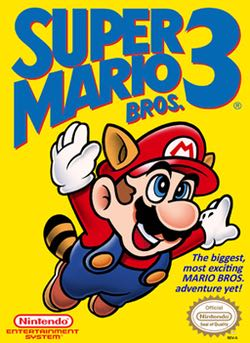 Super Mario Bros. 3 - Wii U Virtual Console cover