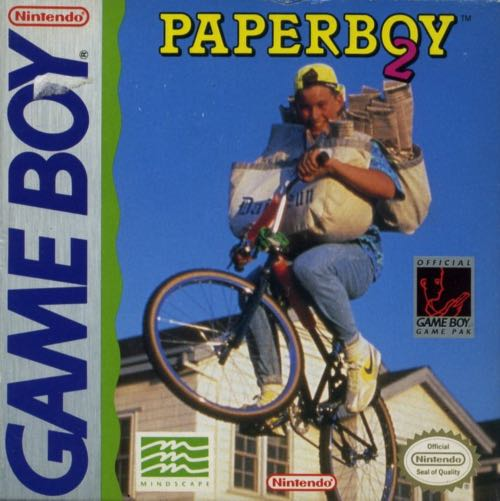 Paperboy 2 - Game Boy cover