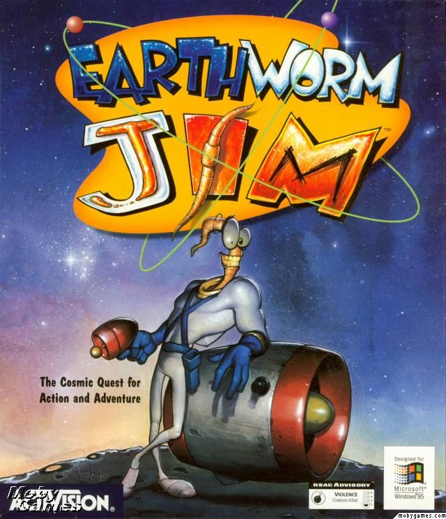 Earthworm Jim - PC cover