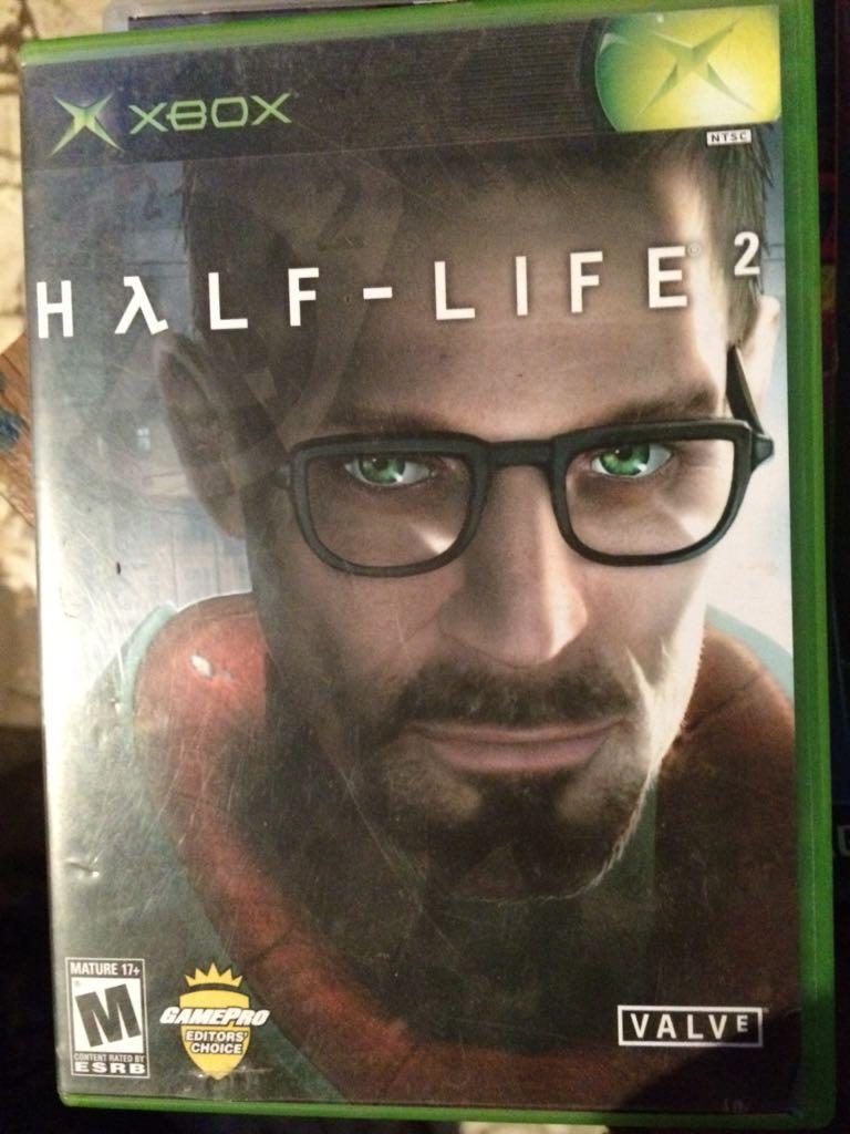 HALF LIFE 2 - Xbox cover